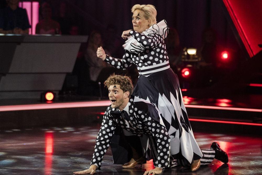 Danseren Michael Olesen og med Hilda Heick i aktion på dansegulvet