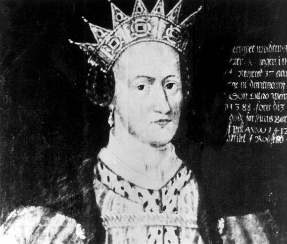 maleri af Dronning Margrete den første