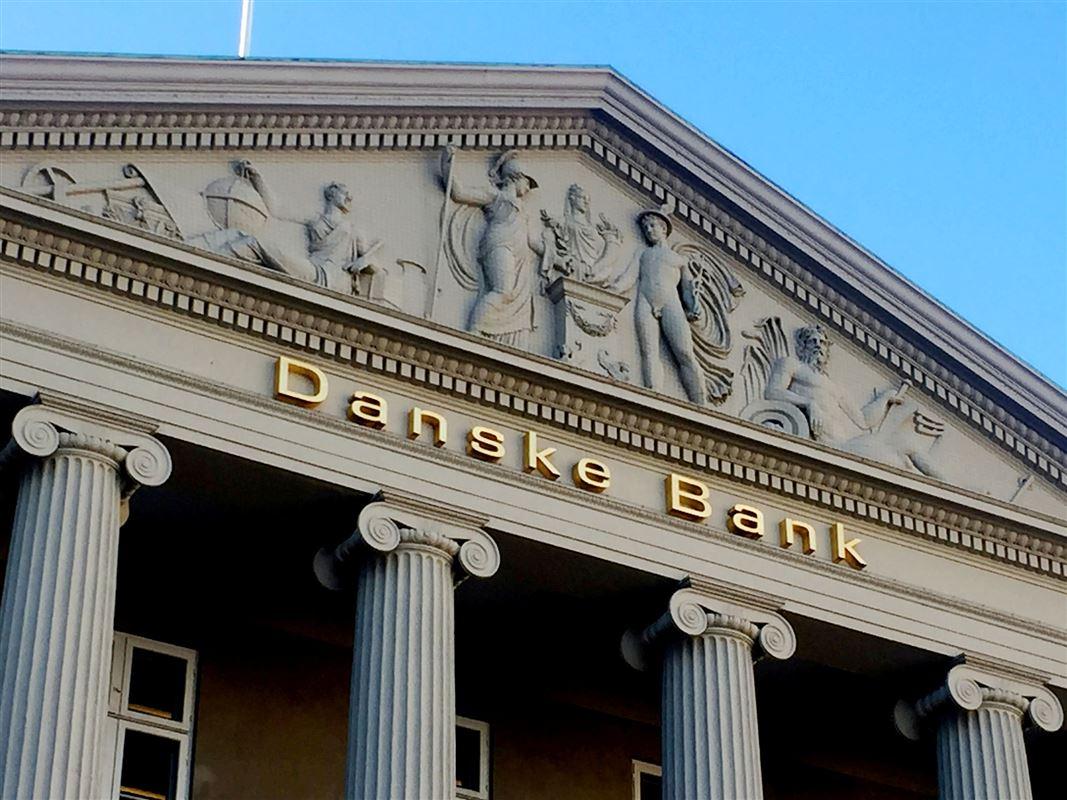 Facade på Danske Banks hovedkvarter