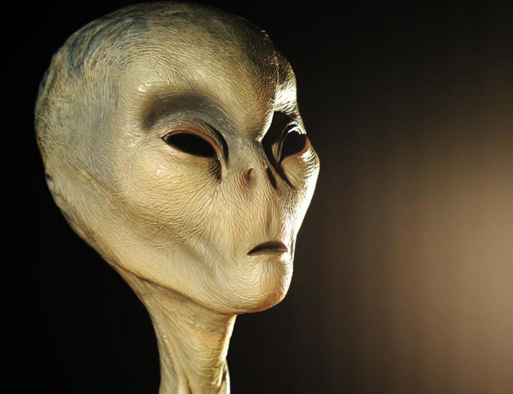 Et billede af en alien