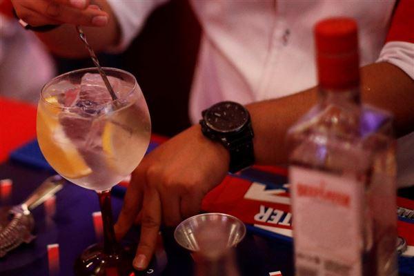 billede af en gin og tonic