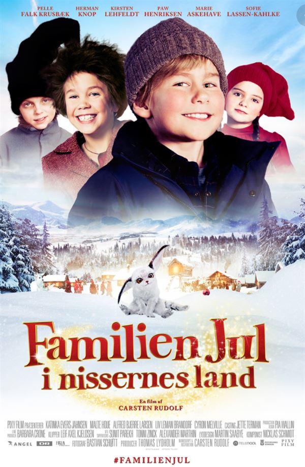 filmplakat af Familien Jul i Nissernes Land