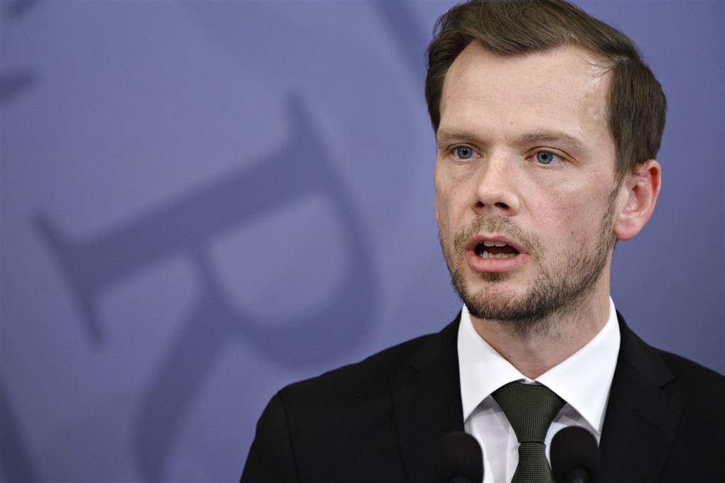 Billede af beskæftigelsesminister Peter Hummelgaard