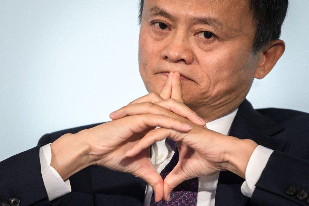 Jack Ma eftertænksom