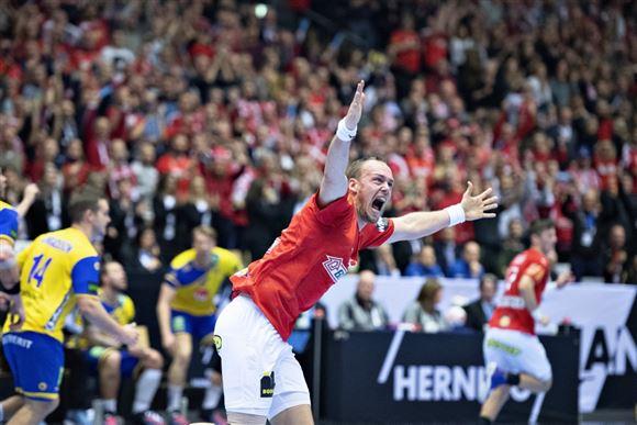 Henrik Toft på håndboldbanen