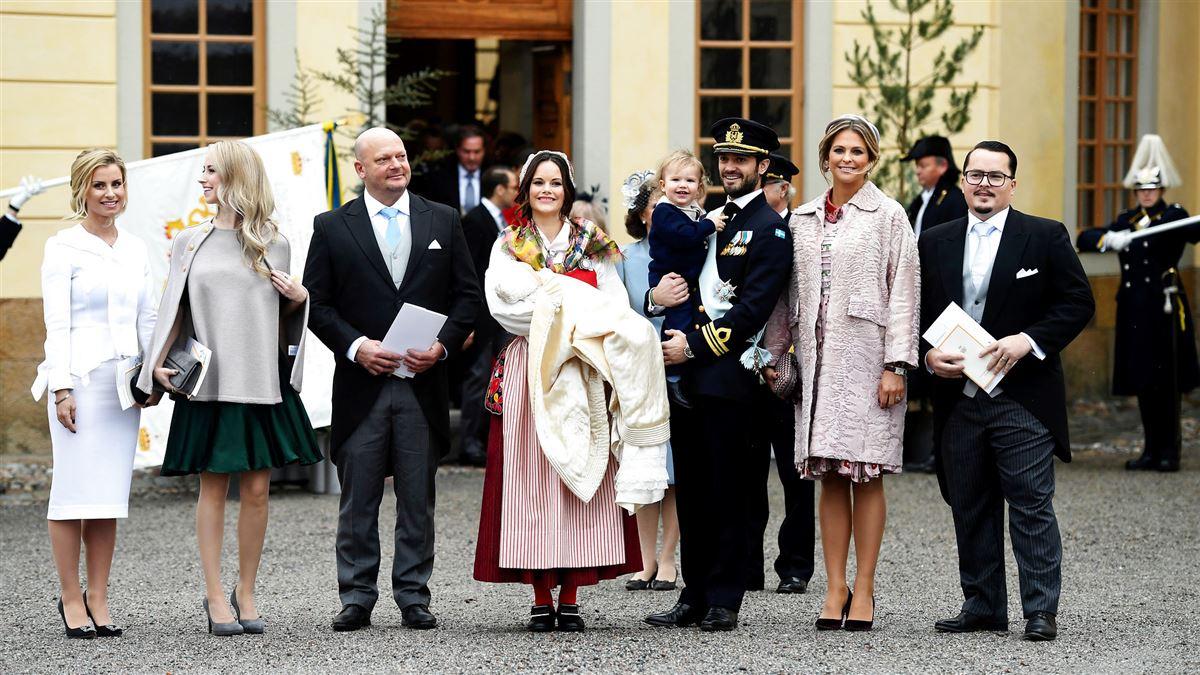 prinsesse Sofia sammen andre i den svenske kongefamilie