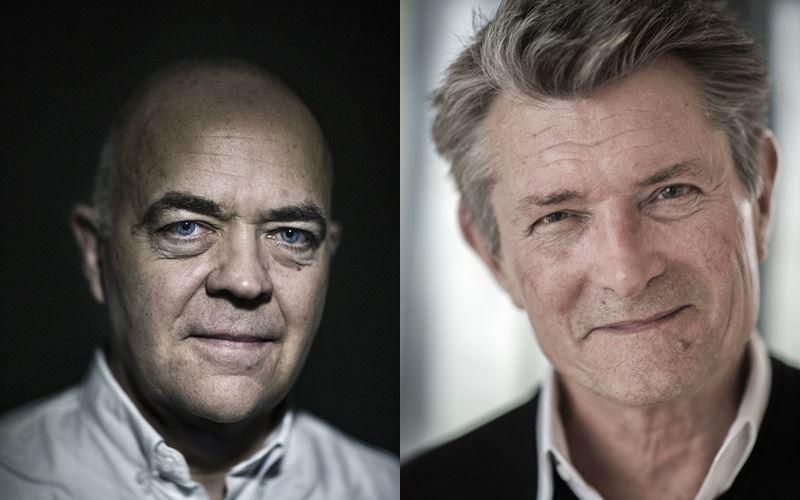 portrætter af Jes Dorph-Petersen og Jens Gaardbo