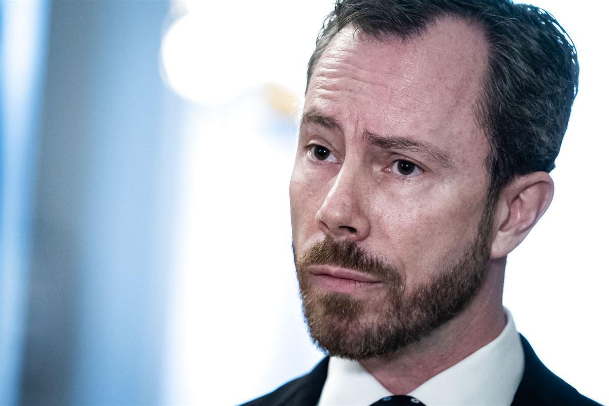 Venstres formand Jakob Ellemann Jensen i jakke og slips