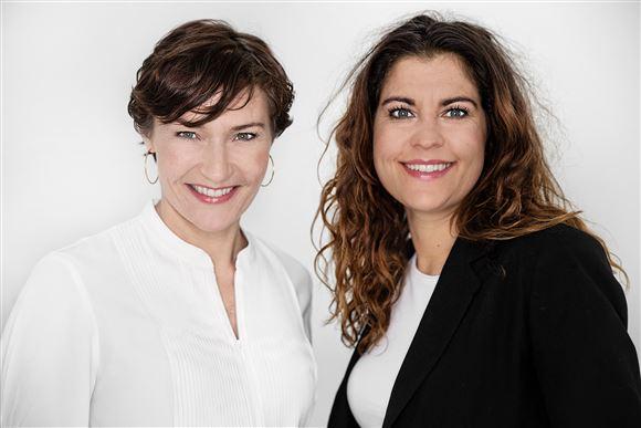 Mia Wagner og Anne Stampe