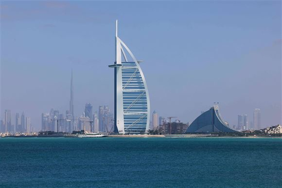 Hotel Burj Al Arab i Dubai
