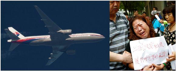 Et fly og en grædende kvinde i lufthavnen