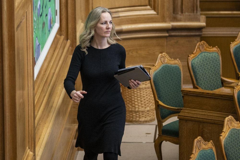 Ida Auken i Folketinget
