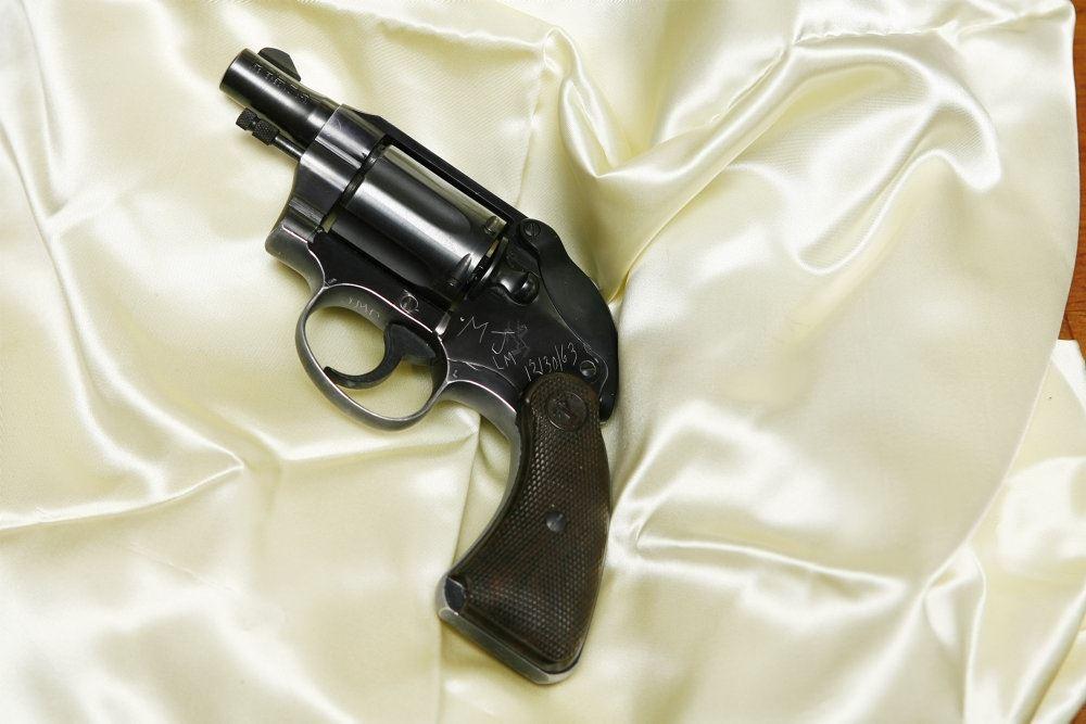 billede af en revolver