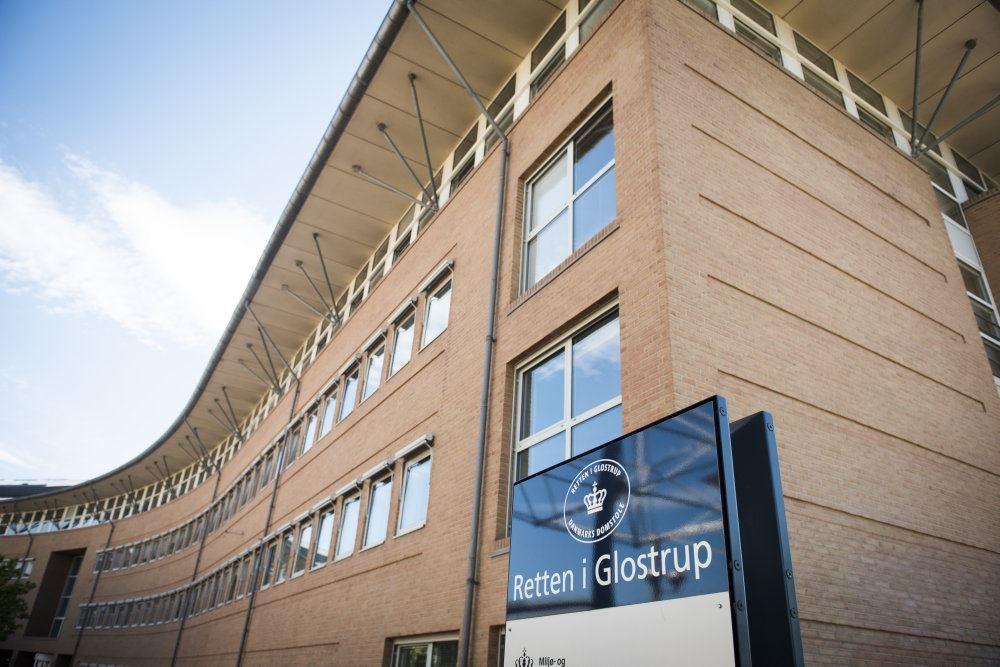 Retten i Glostrup set ude fra