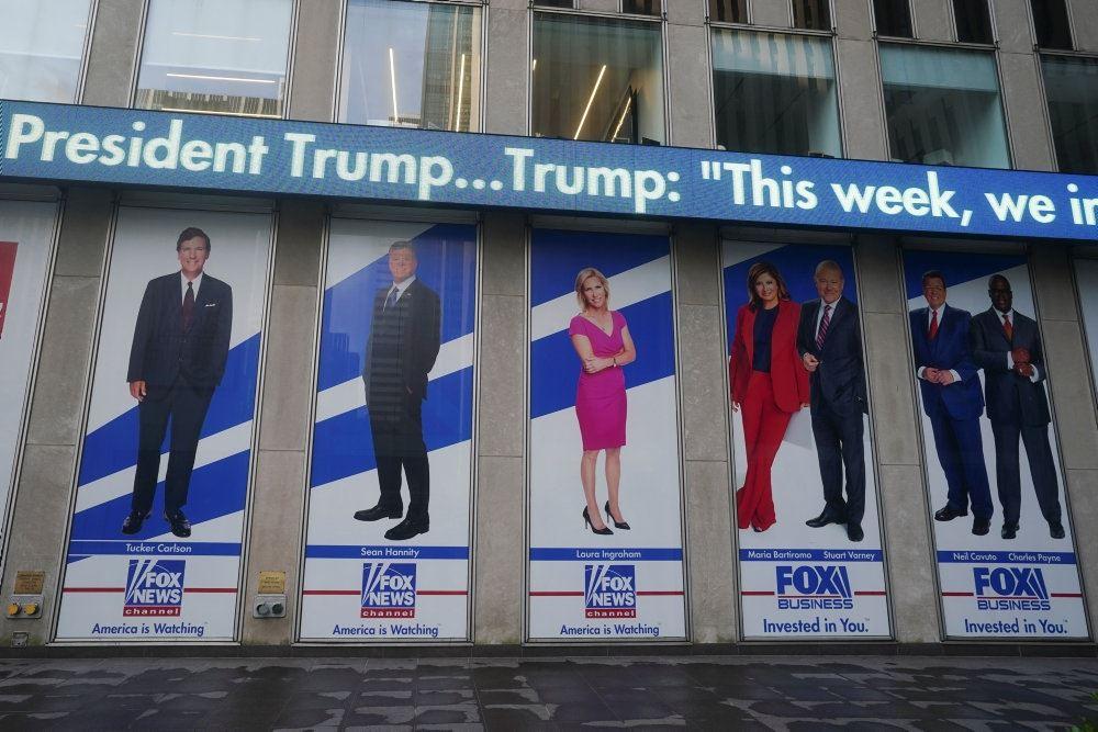 billede af Fox News' facade
