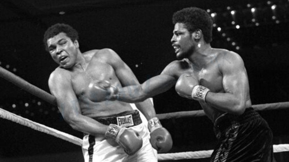 Spinks og Ali i bokseringen