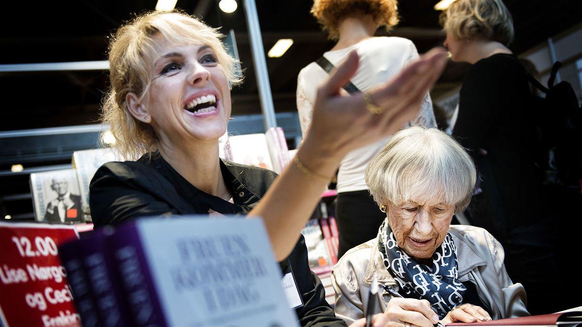 Cecilie Frøkjær ses sammen med Lise Nørgaard