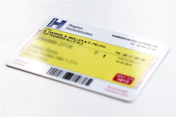 et gult sundhedskort