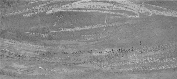 inskription på maleri
