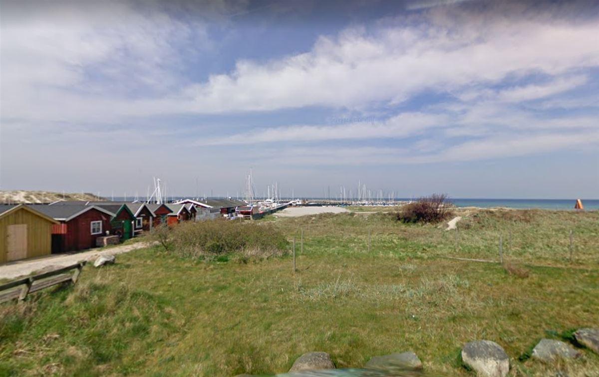 naturområde øst for hornbæk havn