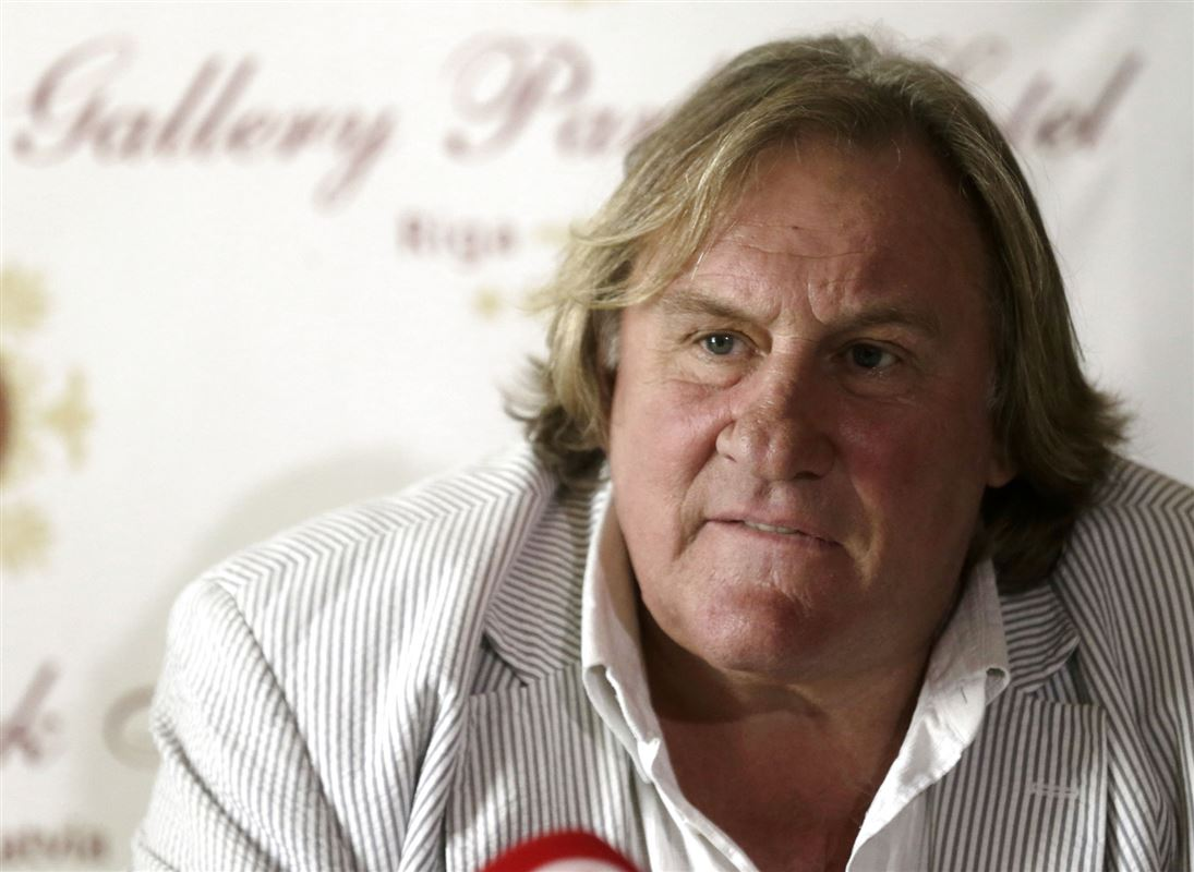Nærbillede af Gérard Depardieu der især kendes på en meget stor næse.