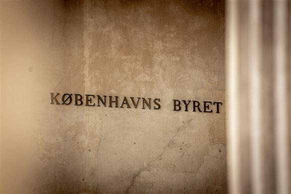 Indgang til Københavns Byret