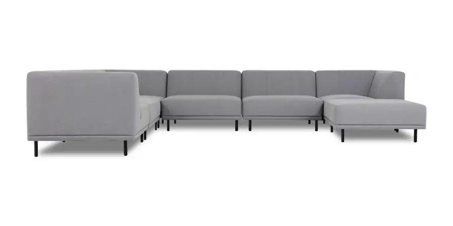 Stor U-formet sofa