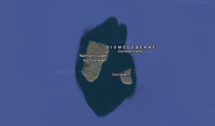 Kort over øer