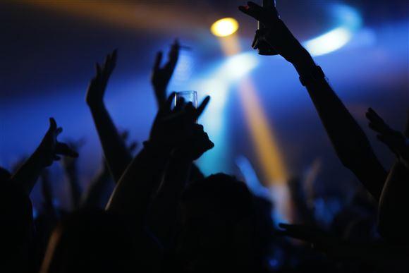billede af festende mennesker
