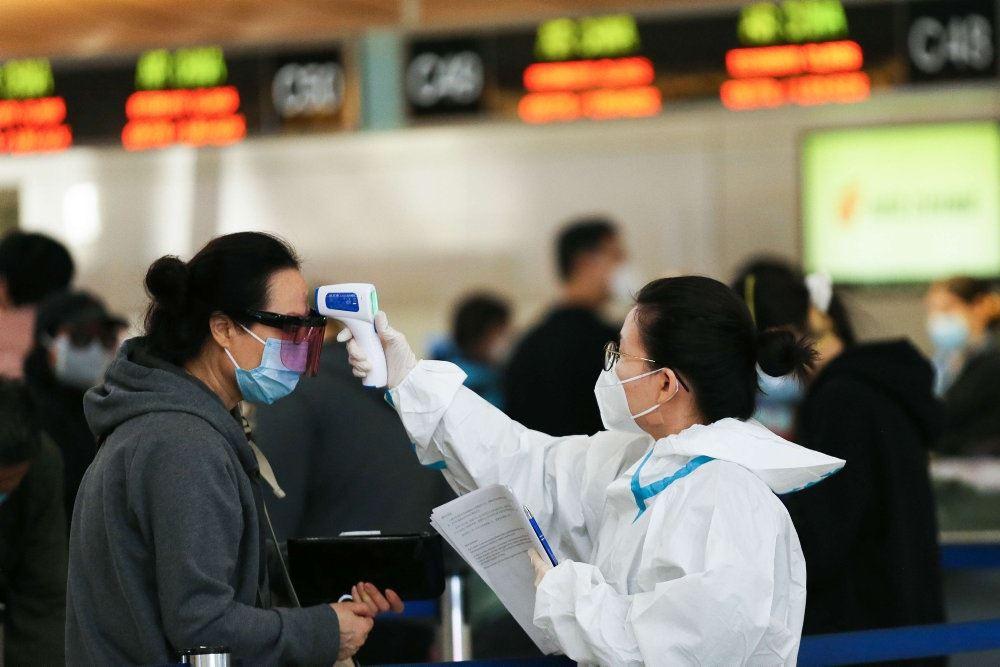 Coronatest i Kina