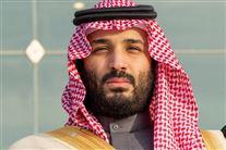 Den saudiarabiske prinse, der nu er anmeldt for drab, han har et rød og hvid ternet tørklæde på hovedet.