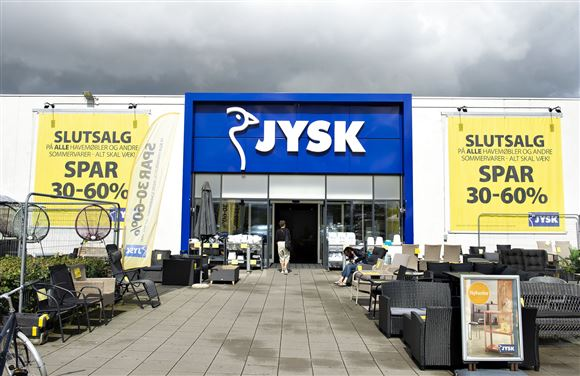 En Jysk-butik