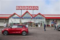 Indgang til Bauhaus