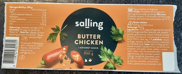billede af Salling butterchicken