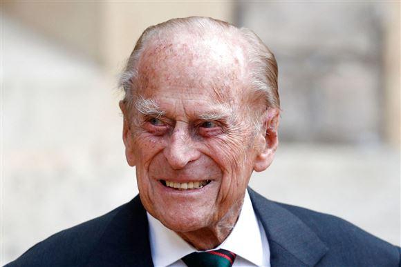 billede af prins Philip