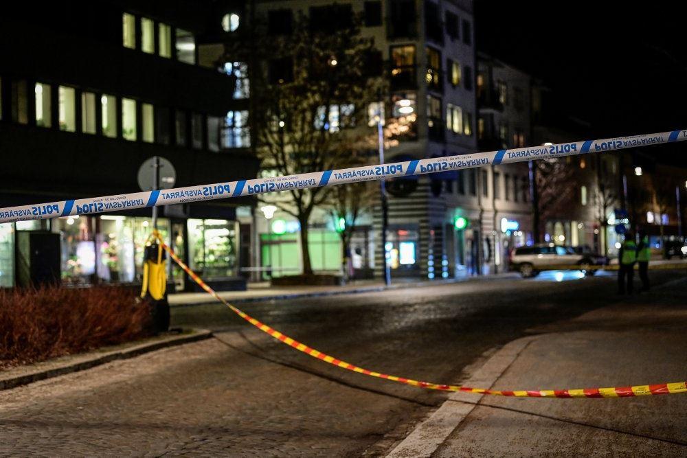 politi i gaden