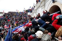 billede fra angrebet på Kongressen i januar.