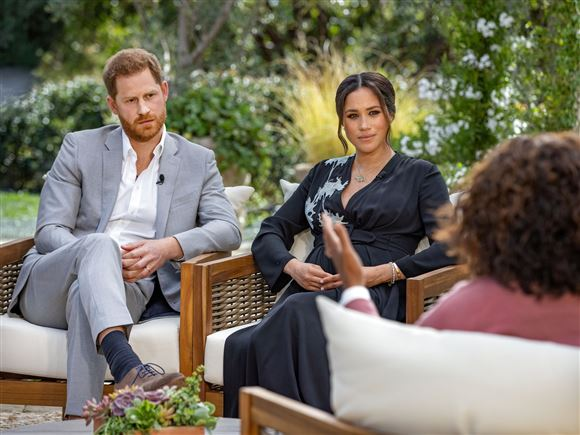 Harry og Meghan interviewes af Oprah