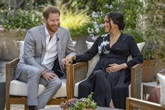 billede af  prins Harry og Meghan