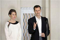 assad og hans hustru asma