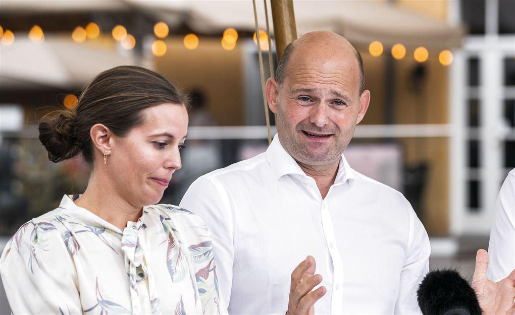 billede af Mai Mercado og Søren Pape