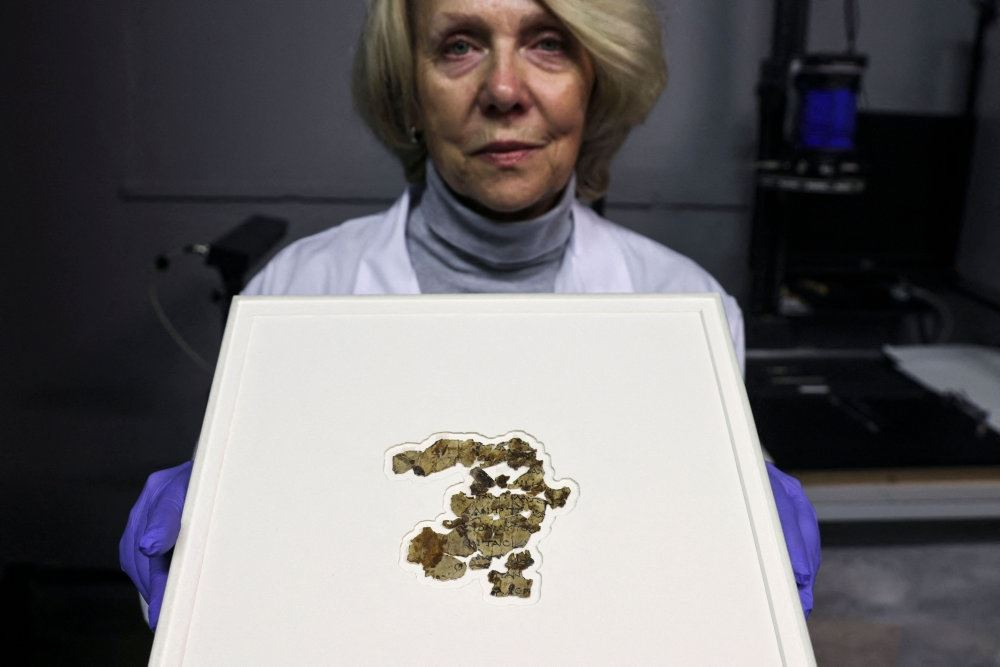 Fragmenter af pergament
