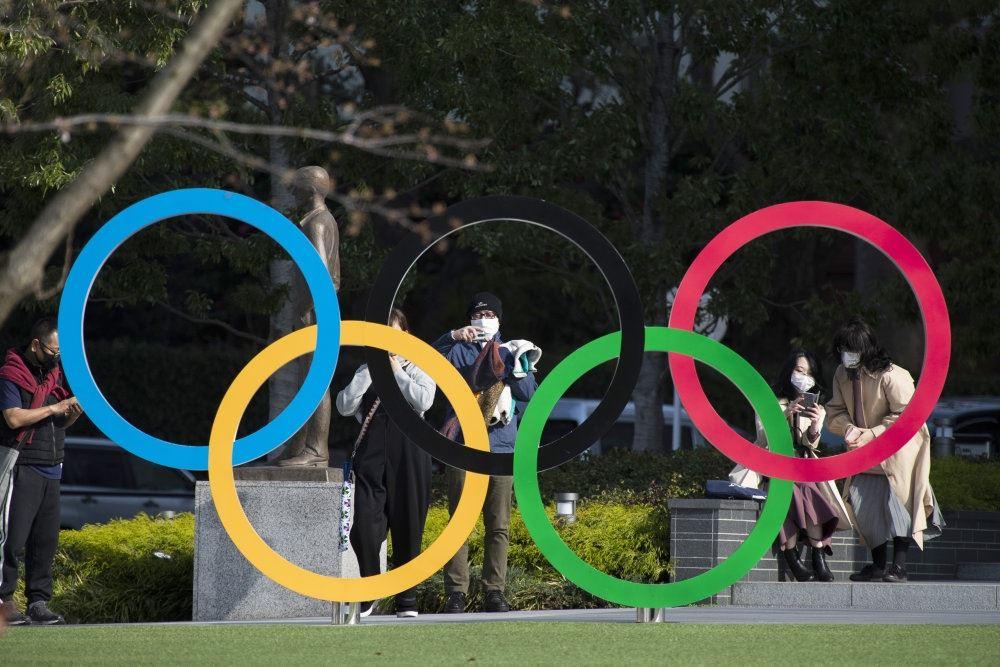 De fem olympiske ringe