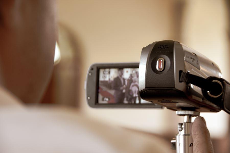 videokamera filmer
