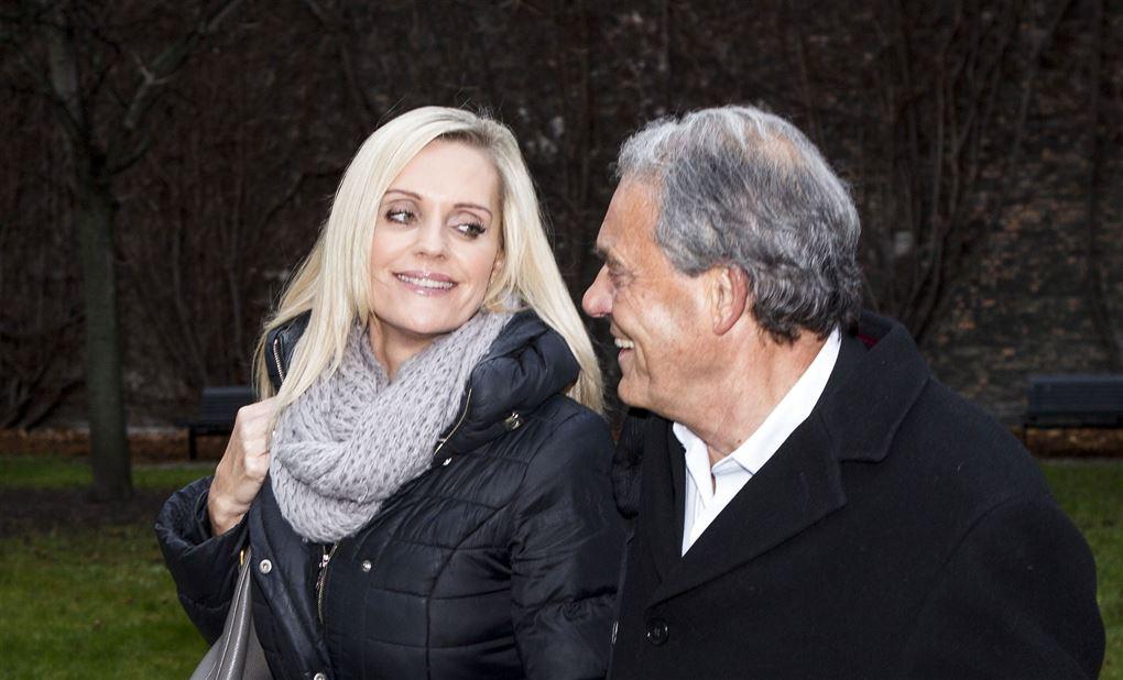 Janni og Karsten Ree på et billede fra 2013