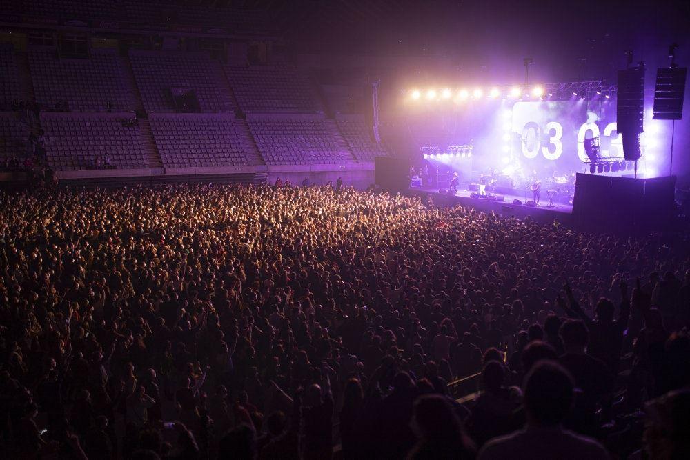 billede af publikum