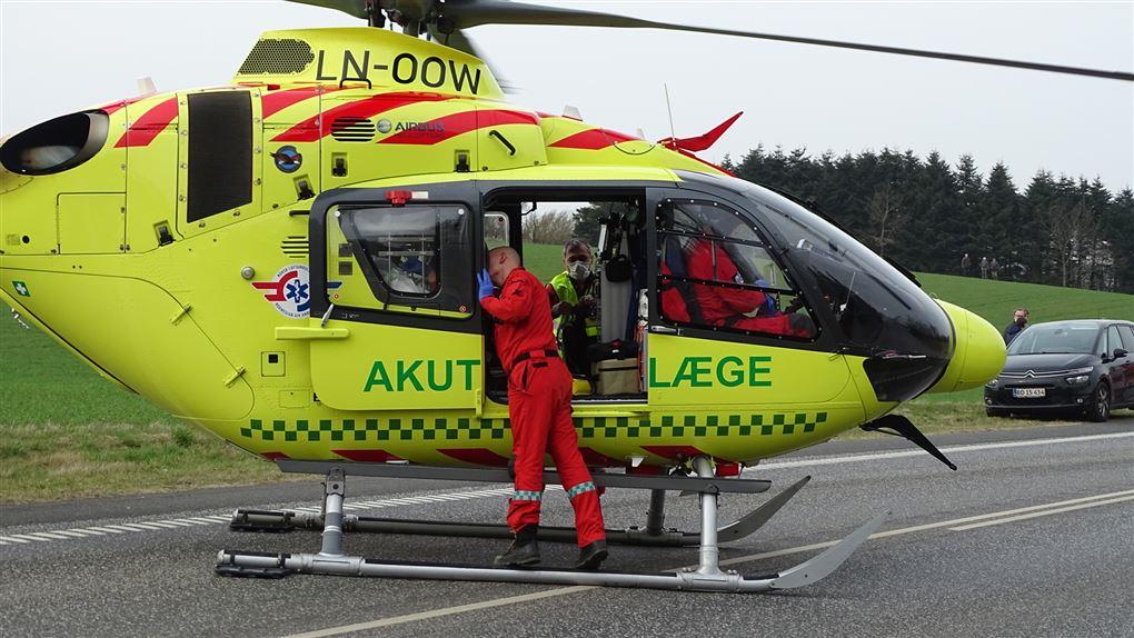 Akutlæge helikopter