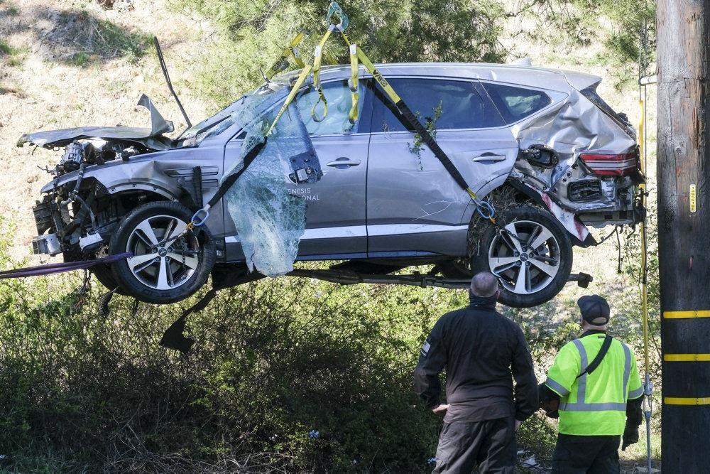billede af den forulykkede bil