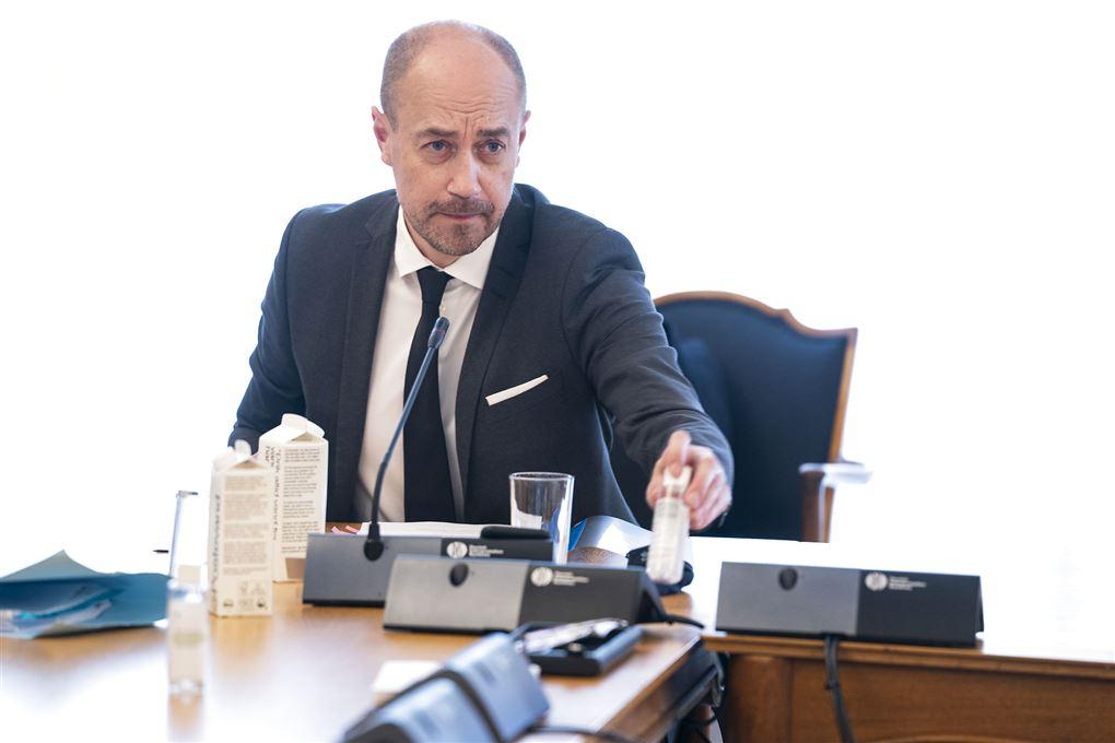 Magnus Heunicke til møde