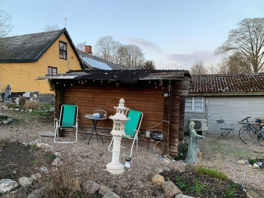 billede af hytten